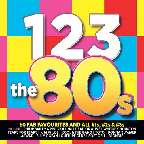 1-2-3: The 80s (3CD) (2021)