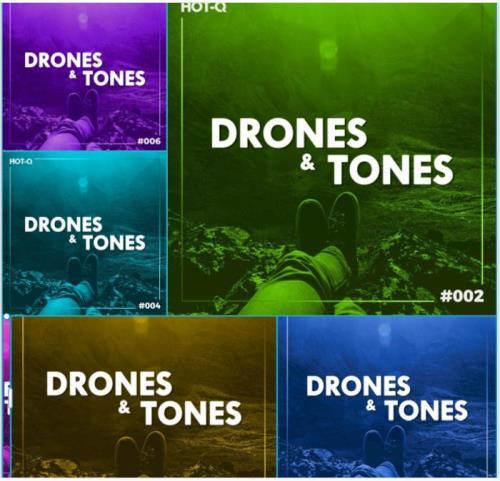 Drones & Tones 001-007 (2021)