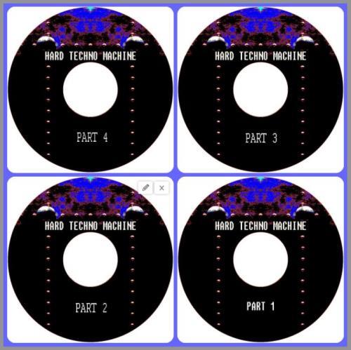 Buben — Hard Techno Machine Part 1-4 (2021)
