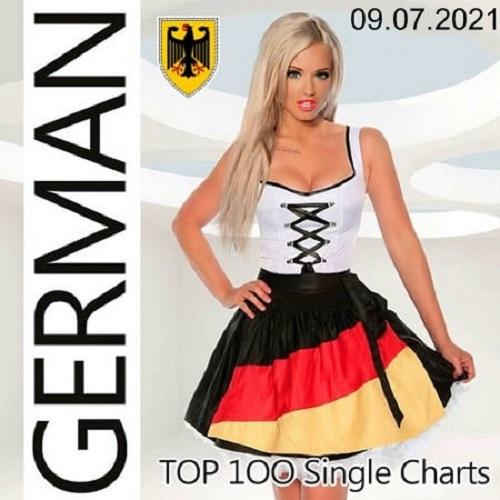 German Top 100 Single Charts 09.07.2021 (2021)