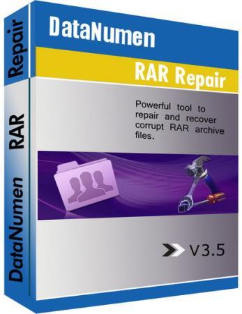 DataNumen RAR Repair 3.5 (ML/Rus)
