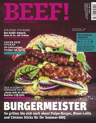 Beef (für Männer mit Geschmack) Magazin No 04 2021