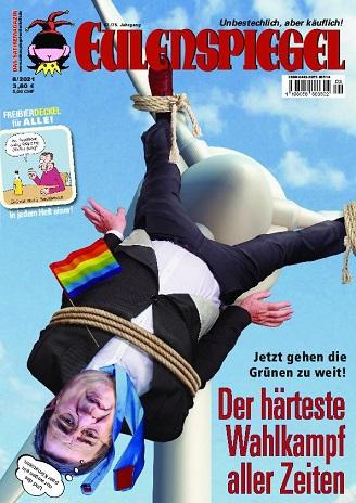 Eulenspiegel Satiremagazin August No 08 2021