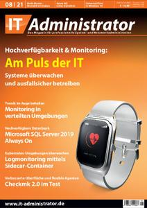 IT-Administrator Magazin August No 08 2021