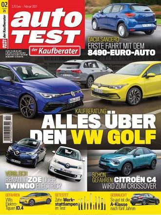 Autotest Magazin Der Kaufberater No 02 2021