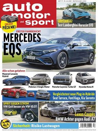 Auto Motor und Sport Magazin No 17 vom 29 Juli 2021