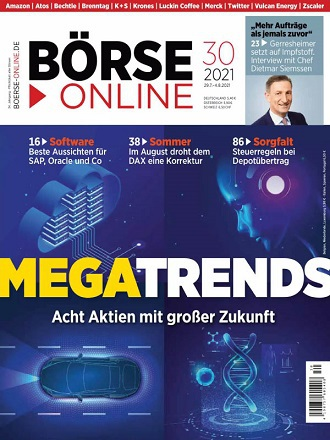 Börse Online Magazin No 30 vom 29 Juli 2021