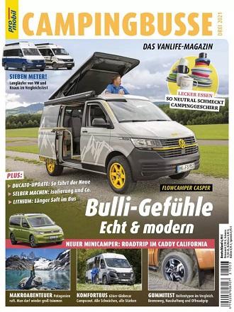promobil Reisemobilmagazin Campingbusse - Drei 2021