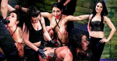 Isa Mendez, Brooklyn Daniels, Lexy Villa - Isa Mendez Takes More Double Penetration Fun from Brooklyn Daniels, Lexy Villa (SD)