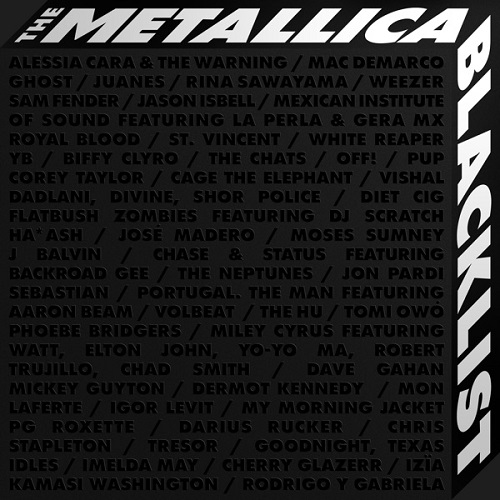 Metallica & VA - The Metallica Blacklist (4CD) (2021)