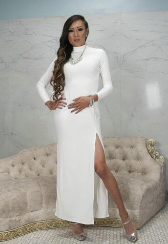 Sophia Grace, Venus Lux - Elegant White Party turns into a bondage fuck fest in the bathroom (HD)